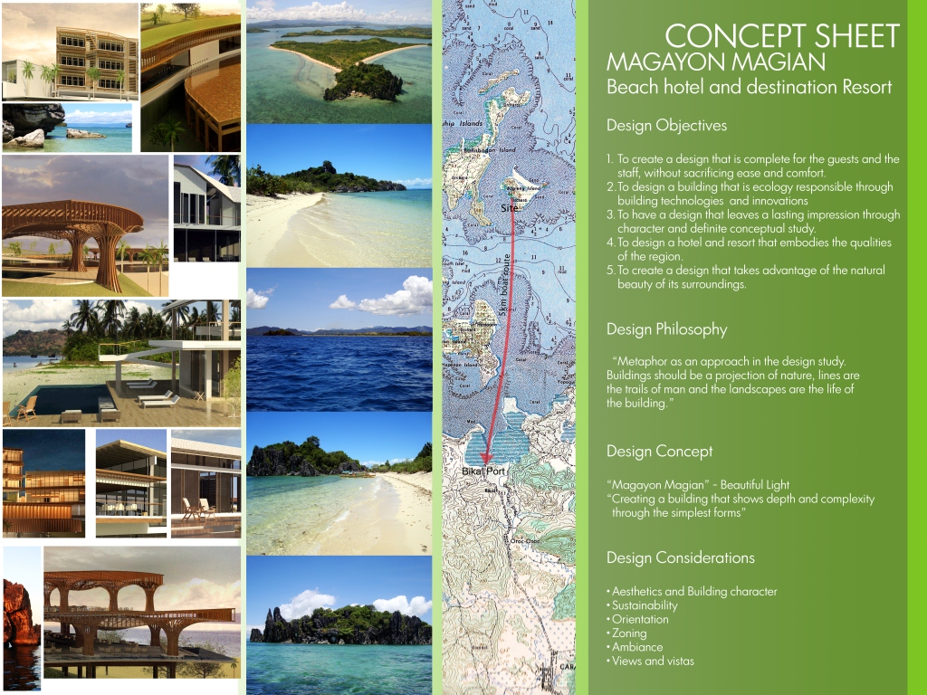 beach resort architecture thesis The objectives of the study were to design unique resort which related to features of landscape and offer exclusive experiences project is in cape lo mun, yao noi island the land was a rubber tree field and beach forest the intention of site improvement was to recover local species in rubber tree area and regain the.